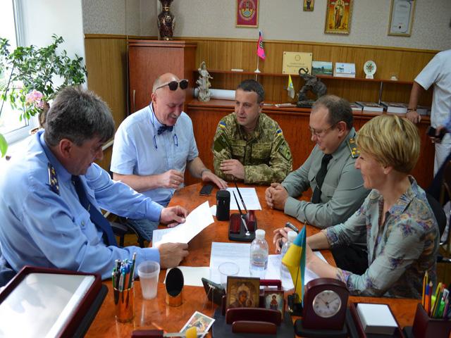 Меморандум о сотрудничестве между Военно-медицинским департаментом МОУ и Украинской ассоциацией стоматологов